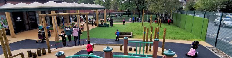 St John School's EYFS Playground Equipment