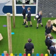St Bernadette School's KS1 Playground Equipment