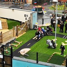 Richmond Hill Academy's SEN Playground Equipment