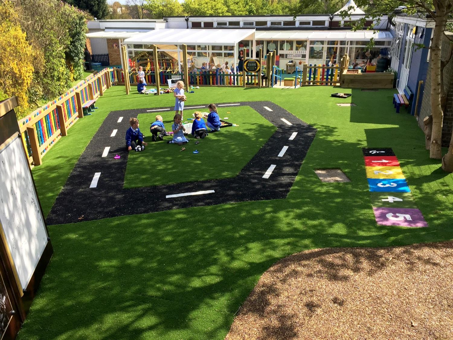 Outdoor Classroom Ideas Uk ~ Hutton all saint s early years outdoor classroom