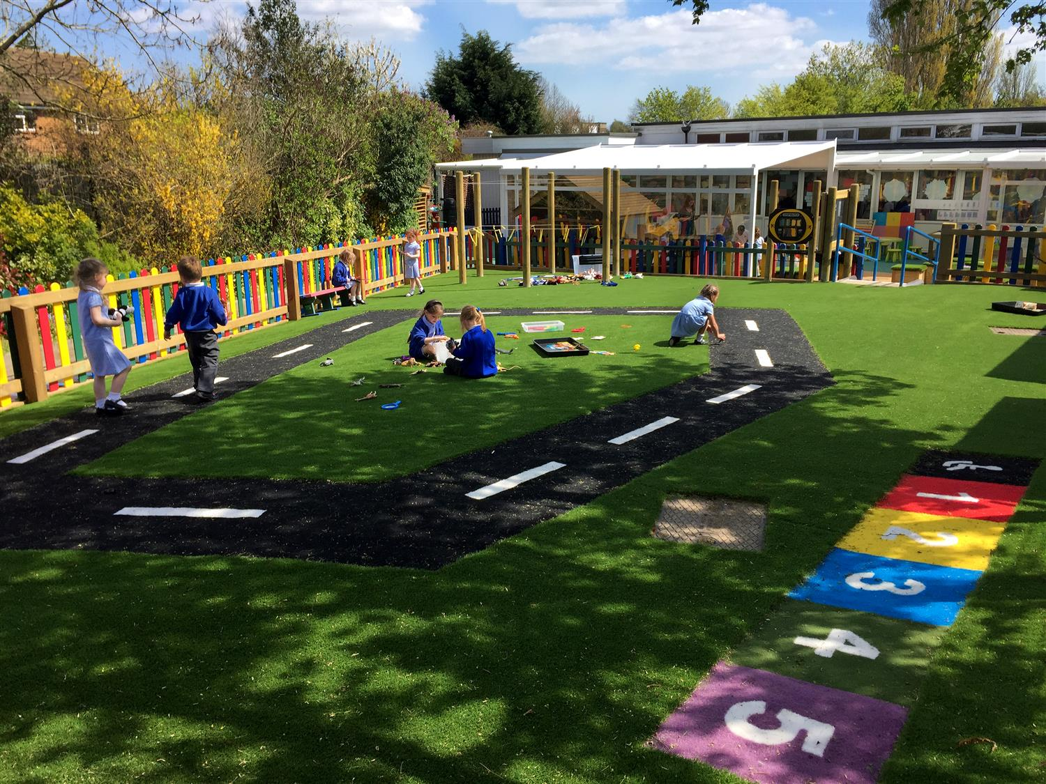 Hutton All Saint S Early Years Outdoor Classroom