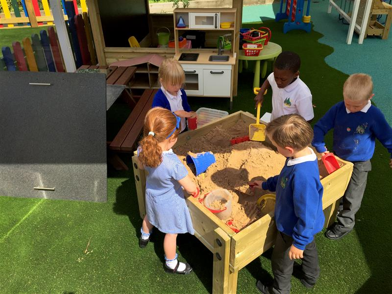 Sand Table with Lid Early Years