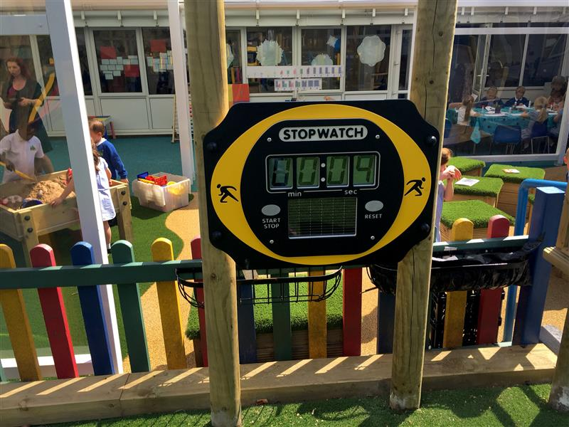 Outdoor Solar Powered Stopwatch