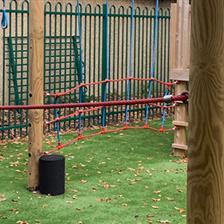 St Patrick Academy's Playground Equipment