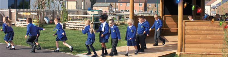 Primrose Lane Primary's Outdoor Classroom