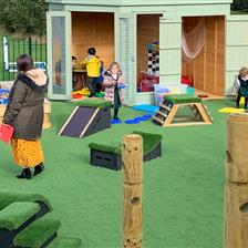 Blackwood School's EYFS Playground Development