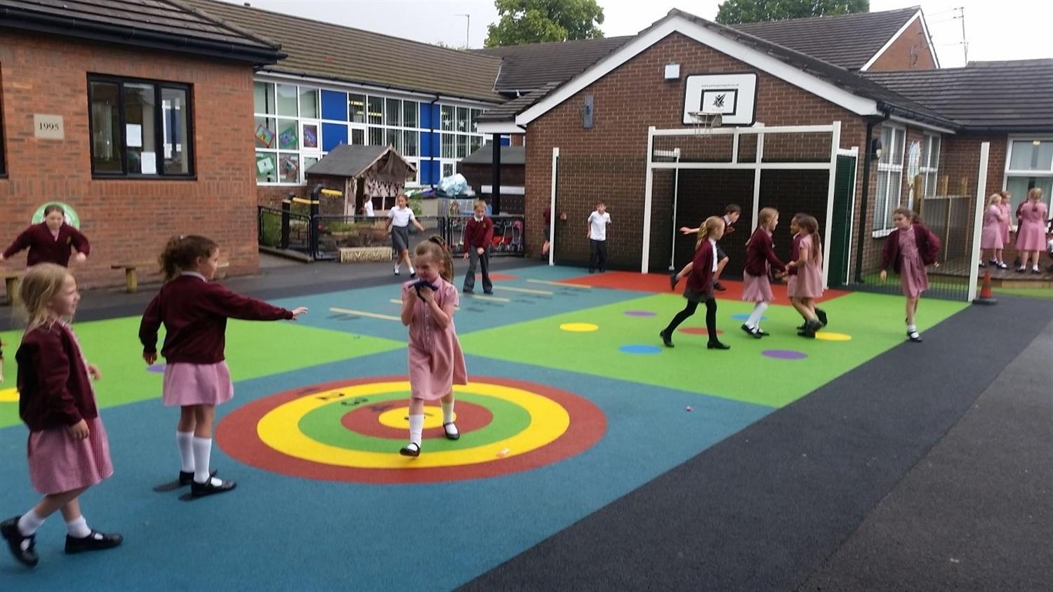 St Mary S Ce Primary School New Active Play Space