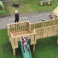 Knowsley Central School's SEN Playground Equipment