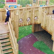 Selworthy School's SEN Playground Equipment