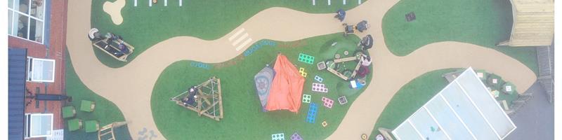 Fairfield Road School's EYFS Playground Equipment