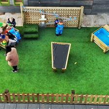St Wilfrid Nursery's Outdoor Play Equipment