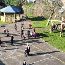 Hurdsfield School's KS1 & KS2 Playground Equipment