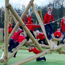 Wynyard School's Adventure Playground Equipment