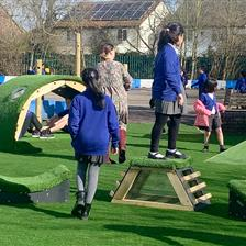 Holy Trinity School's Incredible Outdoor Play Area