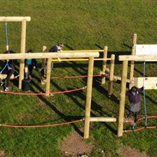 Ysgol Y Plas' Adventure Trim Trail