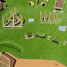 EYFS Playground Redesign At Thrybergh Primary