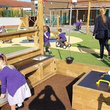 EYFS Playground Transformation At Selby School