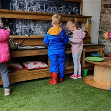 Broughton Primary's EYFS Outdoor Area