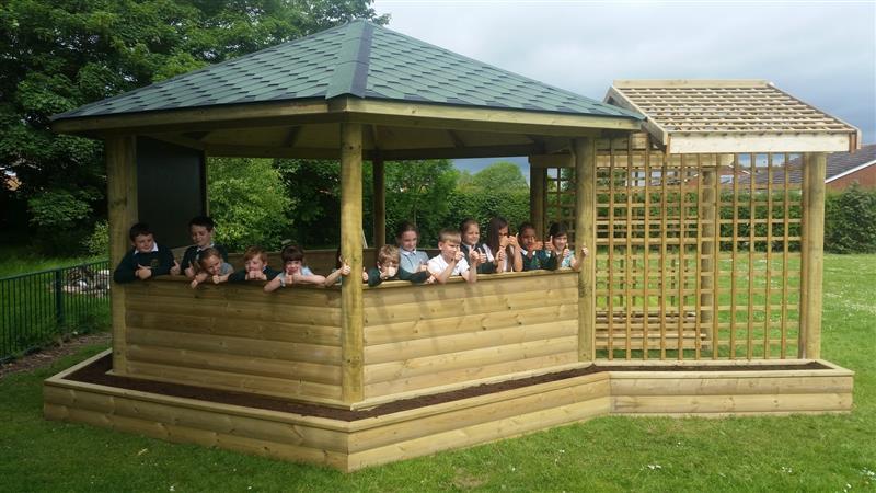 Outdoor Garden Gazebos For Schools