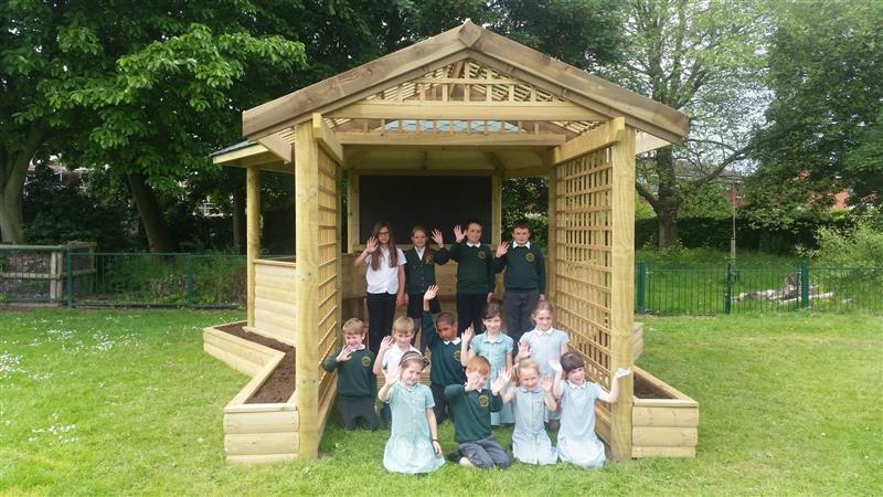 Secret Garden Gazebo for Schools