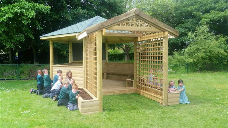 Outdoor Classroom for Forest Schools