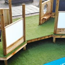 Playground Upgrade At St Giles' and St George's