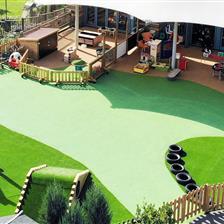 EYFS Playground Redesign At St Bonaventures School