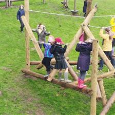 Broomhaugh CE First School's Climbing Frame