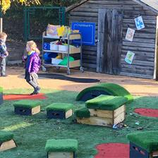 EYFS Playground Transformation At Aston Hall School