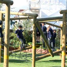 Victoria Park Primary School's Adventure Playground