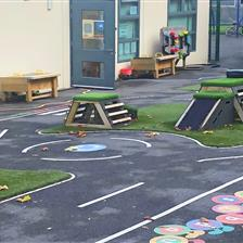 Aston Lodge School's EYFS Playground Redesign