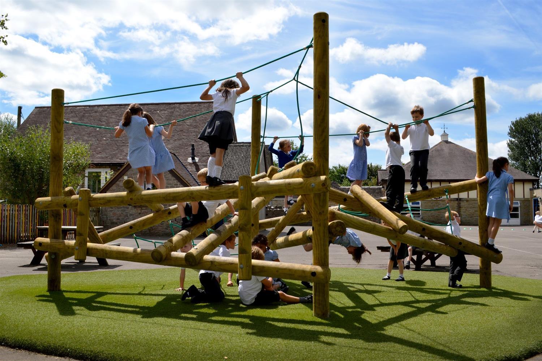 Climbing Frame Kids