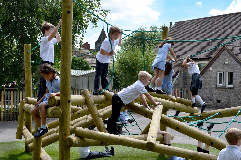 Charfield School S Huge Skiddaw Log Climbing Frame