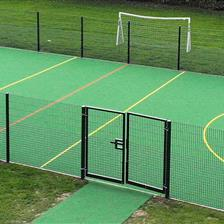 Marvellous MUGA at Oliver Tomkins Primary School
