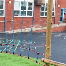 Westminster Primary Academy's Active Playground Development