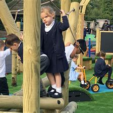First Class EYFS Play Environment For St Edward's Primary School