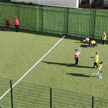 Woodhouse Primary School's Muga Pitch