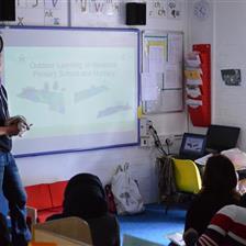 Pentagon Play's Outdoor EYFS Teacher Training Day