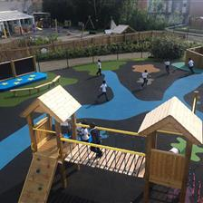 Ashbury Meadow Primary School's Playground Project
