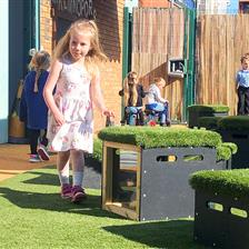 Dinnington Preschool's Outdoor Play Space