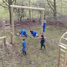 Knayton CE Primary School's Forest Trim Trail