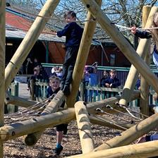 St Peter's CE Primary School's Climbing Frame