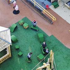 Rawmarsh Sandhill Primary School's outdoor learning area