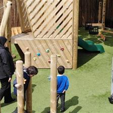 Ashton West End Primary Schools EYFS Playground Development