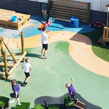 Merlin Top Primary Academy's Active EYFS Playground Development