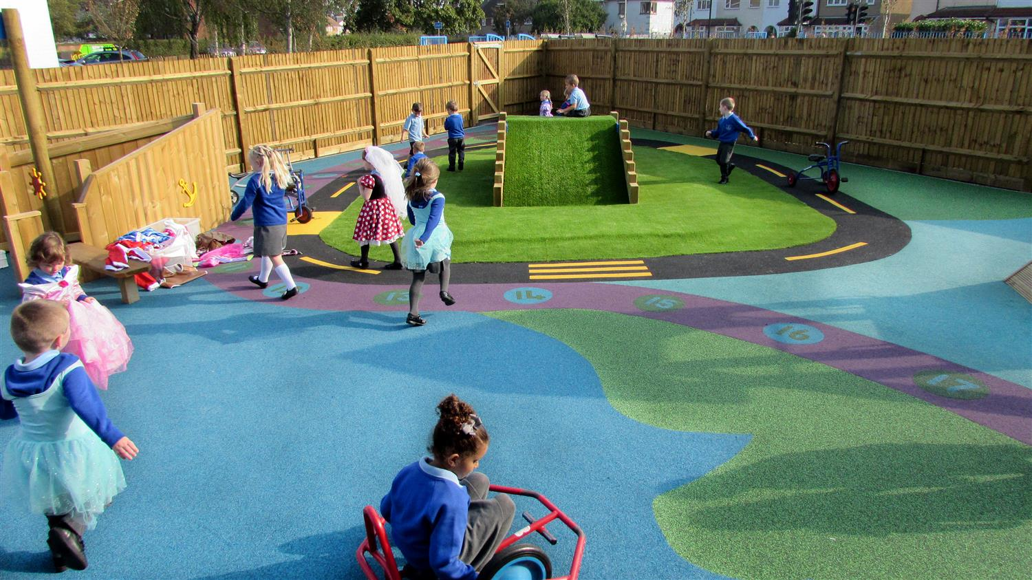 Forres Primary S Eyfs Playground Development Pentagon Play