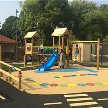 St Chrysostom's Nursery Playground Development