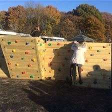 St Elizabeth's School - Bouldering Climbing Wall