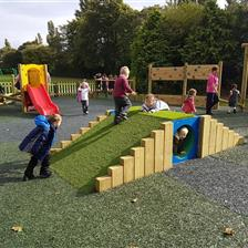 Billingham South's EYFS Playground Equipment