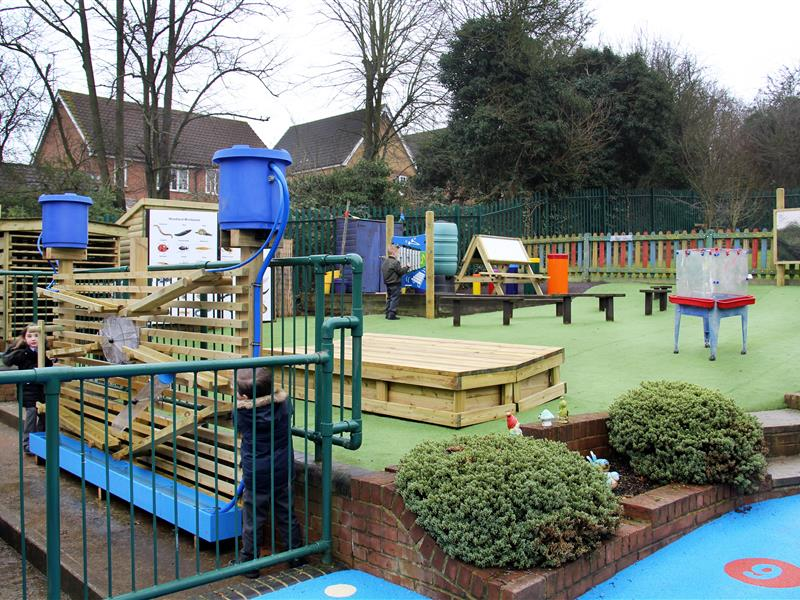 Laindon Park Primary School's EYFS Playground